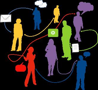 Социальные сети, работа в Интернет