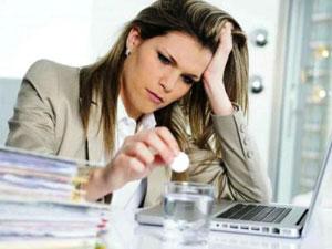 девушка,работа,стресс